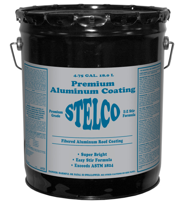 Stelco Premium Fibered Aluminum Coating Stelwagon
