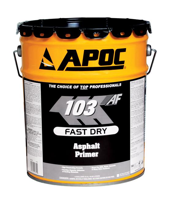 Fast Dry Asphalt Primer Stelwagon