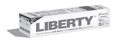 Liberty SBS self-adhereing cap sheet